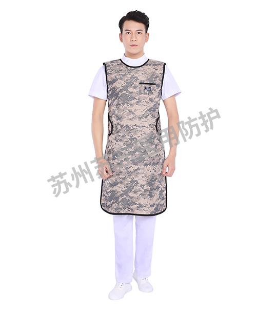 迷彩色單面鉛圍裙