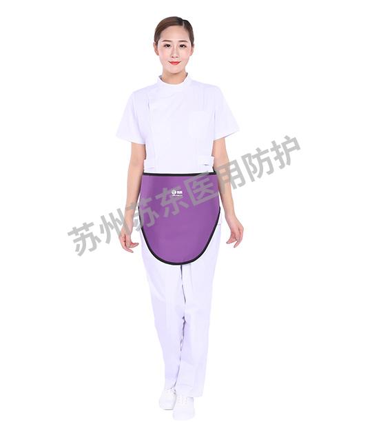 紫色鉛圍裙