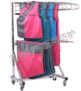 II型分體式防護鉛衣衣架
