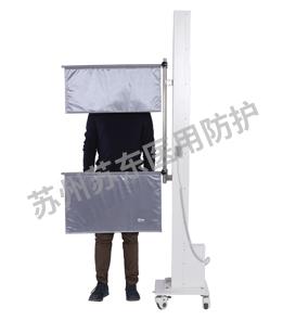 双帘移动升降防护帘(电动)