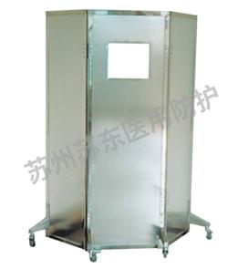 防护铅屏风(三联)