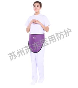 三角巾鉛圍裙-側面