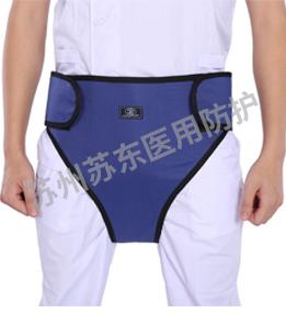 三角褲鉛圍裙-放大正面